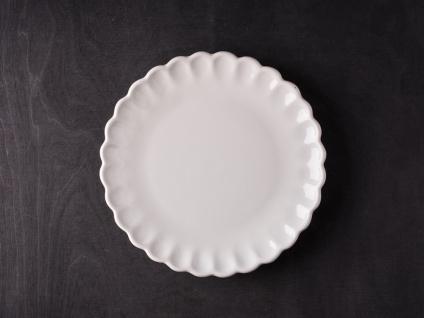 IB Laursen MYNTE Kuchenteller Creme Weiß Keramik Teller 21 cm BUTTER CREAM