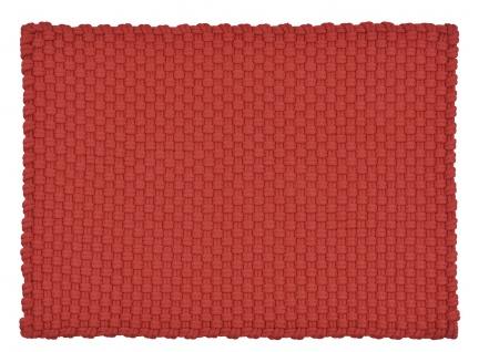 Pad Outdoor Teppich UNI Rot 140x200 cm Badezimmer Matte Design Badematte