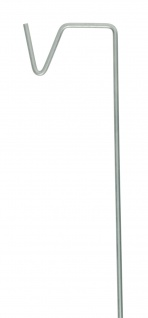 A2 Living Allwetter Stab für Laterne 100 cm Metall Gartenstab