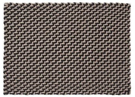 Pad Outdoor Teppich POOL Schwarz Sand 140x200 Badezimmer Matte Design Badematte