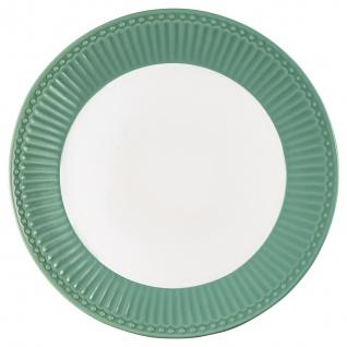Greengate Teller ALICE Grün 23 cm Kuchenteller Everyday Geschirr DUSTY GREEN