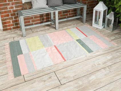 Pad Outdoor Matte UNIQUE Teppich Pink Rosa 92x172 Badematte Pad Concept Fußmatte