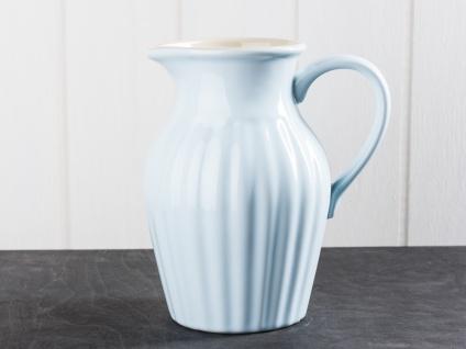 IB Laursen MYNTE Kanne 1.7 Liter Blau Keramik Geschirr STILLWATER Krug Karaffe