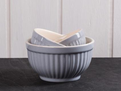 IB Laursen MYNTE Schalensatz French Grey grau Schüsseln Keramik 3er Set Schalen