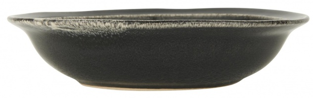 IB Laursen Suppenteller DUNES Schwarz ANTIQUE BLACK Keramik Geschirr Teller 20cm