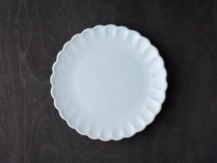 IB Laursen MYNTE Kuchenteller Blau Keramik Teller 21 cm STILLWATER Geschirr
