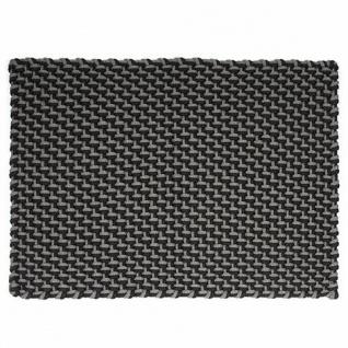 PAD Outdoor Teppich POOL Grau Schwarz 170x240 Pad Concept Matte Badematte