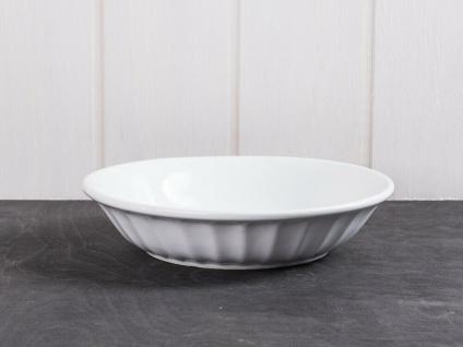 IB Laursen MYNTE Suppenteller Weiß PURE WHITE Keramik Geschirr tiefer Teller