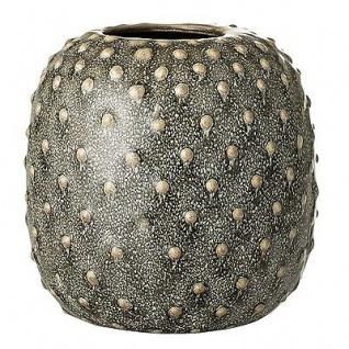 Bloomingville Vase Grün Keramik Blumenvase 14 Cm Hoch 14 Cm