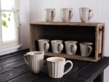 IB Laursen MYNTE Becher Beige LATTE Tasse Keramik Geschirr 250 ml Kaffeebecher - Vorschau 2
