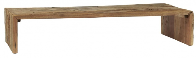 IB Laursen Podium Tablett UNIKA 73 cm Pedestal Rechteckig Massiv Holz