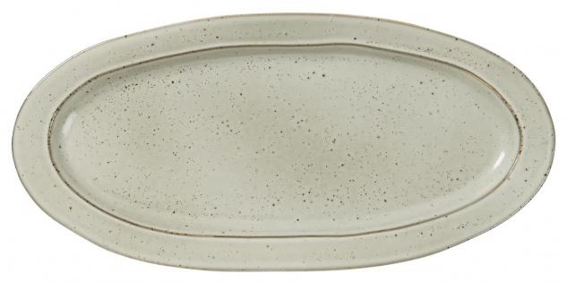 IB Laursen Servierplatte DUNES Sand Keramik Geschirr Teller 37.5 cm Tablett