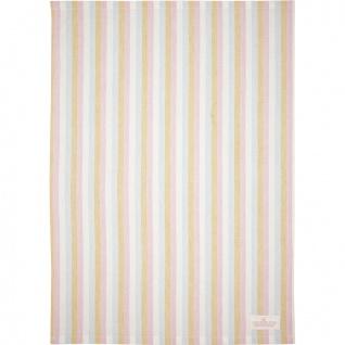 Greengate Geschirrtuch CALLIE Weiß Streifen Muster Baumwolle 50x70 Küchentuch