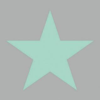 Ambiente Servietten STAR AQUA GREY 20 Stück Grau STERN türkis grün 3-lagig 33x33