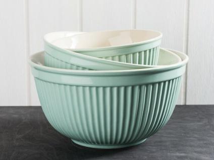 IB Laursen MYNTE Schalensatz Grün 3er Set Keramik Schüsseln GREEN TEA Geschirr