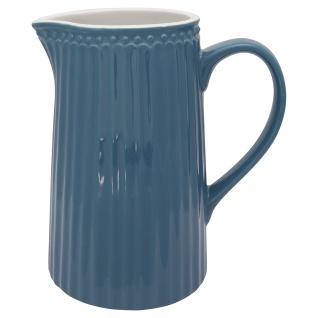 Greengate Krug ALICE Blau Kanne 1 Liter Everyday Geschirr Karaffe OCEAN BLUE