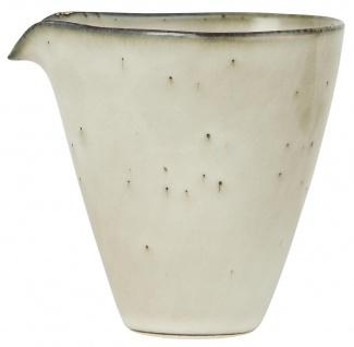 IB Laursen Kanne mit Tülle Mini DUNES Sand Keramik Geschirr Milchkännchen