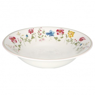 Greengate Schale THILDE Servierschale Blumen Porzellan Geschirr Suppenschale