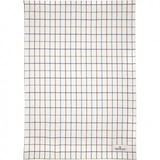 Greengate Geschirrtuch LYLA Weiß mit Karo Muster Baumwolle 50x70 Küchentuch