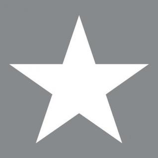 Ambiente Servietten STAR GREY 20 Stück grau STERN weiß 33x33 cm 3-lagig hellgrau