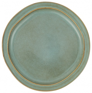 IB Laursen Essteller DUNES Blau LIGHT BLUE Keramik Geschirr Teller 28 cm