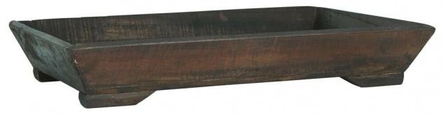 IB Laursen Tablett Holz UNIKA Deko Tisch Unikat Brett 60 cm massiv