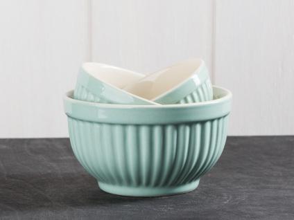 IB Laursen MYNTE Schalensatz Green Tea hellgrün Schüsseln Keramik 3er Schalen