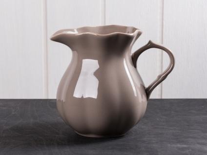 IB Laursen MYNTE Kanne 1 Liter Braun Keramik Geschirr MILKY BROWN Krug Karaffe