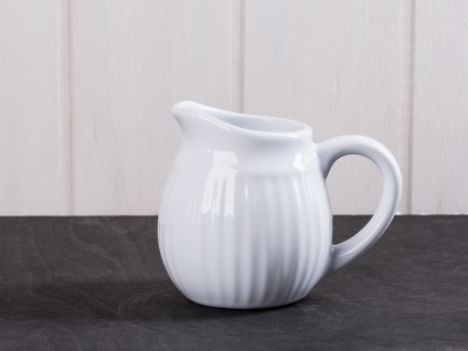 IB Laursen MYNTE Sahnekännchen Weiß Milchkännchen PURE WHITE Keramik Geschirr - Vorschau 1