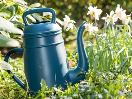 Gießkanne LUNGO blau 12 Liter Kunststoff XALA Design Kaffekanne Kaffepott