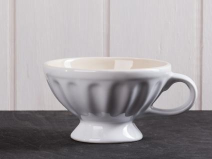 IB Laursen MYNTE Jumbobecher Weiß Keramik Geschirr PURE WHITE XL Tasse 300 ml - Vorschau 1