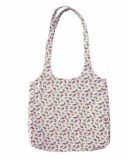 Krasilnikoff Tasche Romantik Blume rosa bunte Blumen