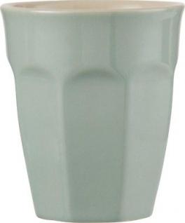 IB Laursen Cafe Latte Becher Mynte hellgrün Green Tea Geschirr Keramik