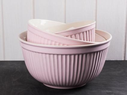 IB Laursen MYNTE Schalensatz Rosa 3er Set Keramik Schüsseln ENGLISH ROSE Geschir
