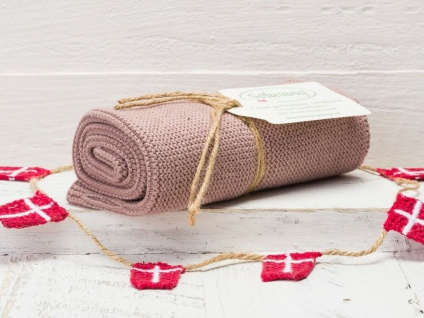 Solwang Küchentuch DUNKLES NOUGAT gestrickt Putztuch Geschirrtuch Handtuch Gäste