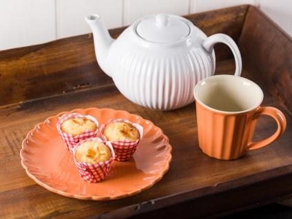 IB Laursen MYNTE Teekanne Weiß Keramik Kanne pure white 1 Liter Geschirr - Vorschau 2