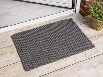 Pad Outdoor Matte UNI Stone Grau 52x72 Fussmatte Teppich Pad Concept Fußmatte