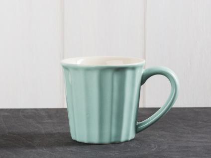 IB Laursen Mynte Becher hellgrün Green Tea Tasse Keramik grün beige 250 ml