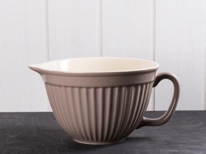 IB Laursen MYNTE Rührschüssel Braun Keramik Geschirr MILKY BROWN 1700 ml Schale