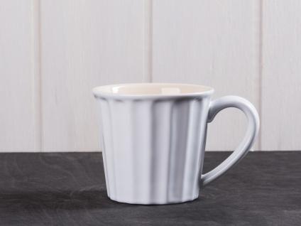 IB Laursen MYNTE Becher Weiß PURE WHITE Tasse Keramik Geschirr 250ml Kaffeetasse