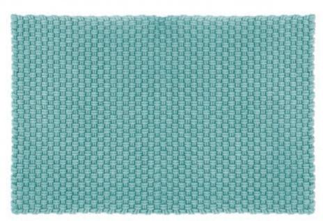 Pad Outdoor Teppich UNI Opal Türkis 170x240 cm Badezimmer Matte Design Badematte