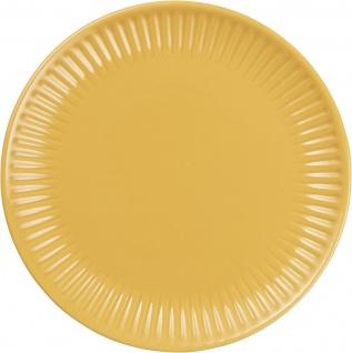 IB Laursen MYNTE Frühstücksteller Gelb Keramik Teller 19 cm MUSTARD Geschirr