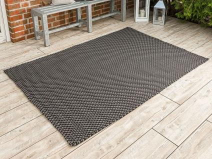 PAD Outdoor Teppich POOL Grau Schwarz 140x200 Concept Matte Badematte Fussmatte