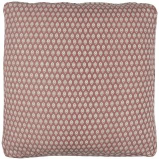 IB Laursen Sitzkissenbezug Box Kissen Faded Rose Muster Kissenhülle 45x45x3