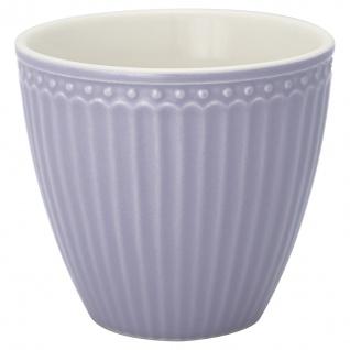 Greengate Latte Cup Becher ALICE Lila Everyday Geschirr LAVENDER 300 ml