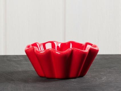 IB Laursen MYNTE Muffinschale Rot Keramik Muffinform STRAWBERRY Backform Geschir