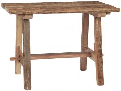 IB Laursen Tisch UNIKA Holz Eckig Unikat 62x100 cm Esstisch Holztisch