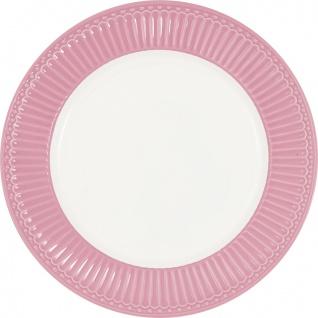 Greengate Teller ALICE Rosa 23 cm Kuchenteller Everyday Geschirr DUSTY ROSE