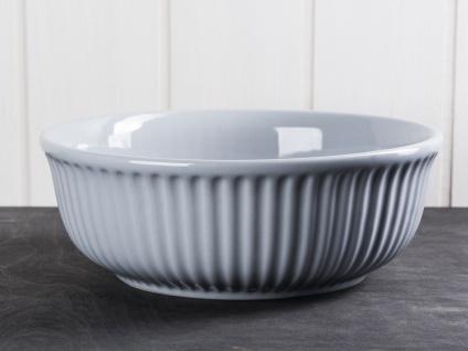 IB Laursen MYNTE Servierschale 23 cm Grau Keramik Geschirr Schüssel FRENCH GREY
