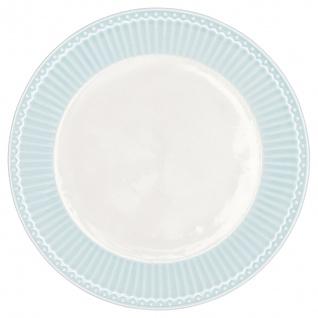 Greengate Teller ALICE Blau 23 cm Kuchenteller Everyday Geschirr PALE BLUE